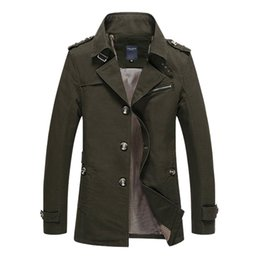 Крутые армейские куртки мужчины онлайн-2018 Casual Men Jacket New Arrival Cool Slim Fit Style Autumn Spring  Clothing Army Cotton High Quality Coat Jacket Men