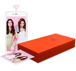 2019 kommerzielle etikettendrucker Günstige Großhandel Mini Tasche WIFI Wireless Mobile Foto Drucker Pickit M2 Bunten Foto NFC Drucker
