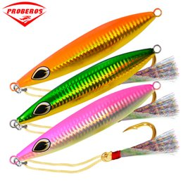 japan jig Coupons - 5pc Lead Fish 40G-60G-100G-160G Fishing Lure 5 Color Fishing Bait Casting Lure Deep Bass Fishing Tackle hard Exported To Japan