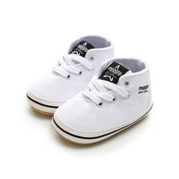 de 2018 Caminantes Lienzo goma 2019 Infantiles blancos Blanco Zapatos zapatos Niñas Primeros Recién Niños Calzado FgC05gwq