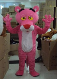 Wholesale Custom Mascots Costumes - 2018 Free shipping Mascot costume pink panther cartoon clothing mascot Costume