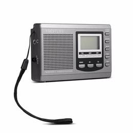 Portable Radio Mini DSP FM / MW / SW Récepteur Radio avec Réveil Numérique Radio FM Antenne Récepteur FM Livraison Gratuite 5 ? partir de fabricateur