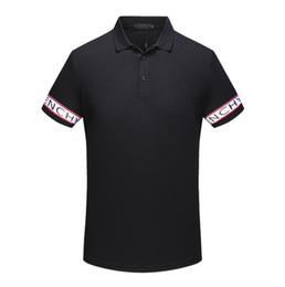 Argentina Medusa T-shirt 18 polo camisa de manga corta animal bordado polo t shirts hombres camiseta diseño de impresión poloshirts ropa tops cheap embroidery clothes designs Suministro
