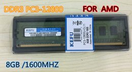 Wholesale Ddr3 Pc3 - New RAMS 8GB DDR3 PC3-12800 1600MHz For Desktop PC DIMM Memory RAM 240 pins For AMD System High Compatible