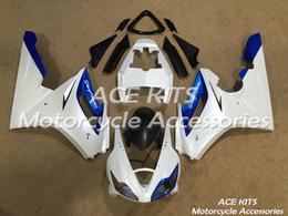 Triumph Daytona 675R2006 2007 2008 için ACE Motosiklet Kaplamaları Sıkıştırma veya Enjeksiyon Kaporta Mavi Beyaz No.576 nereden
