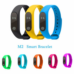 Wholesale Orange Sms Email - M2 Pro Smart Fitness Bracelet Heart Rate Blood Pressure Oxygen Monitor Smart Band Call SMS Push R5 Pro Smartband