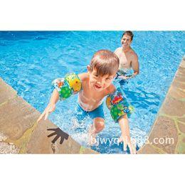 Wholesale Intex Pools - 59650 intex pvc inflatable fish print swim band armband 19*19cm learn swimming pool water play toy beach summer floating B41006