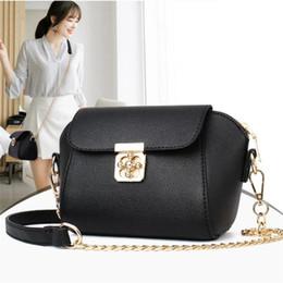 d60faed92c 2018 New Handbag fashion trend Korean Women Messenger Bags brand shoulder  Bag Leather Handbags Women s gold chain shoulder strap