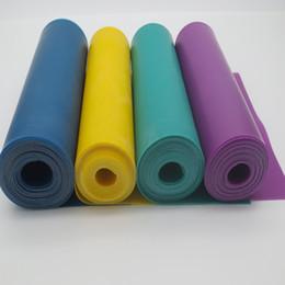 bande di oscillazione Sconti cinghie elastiche di gomma della cinghia della cinghia di yoga della cinghia di yoga di buona qualità cinghia slackline