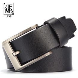 Calças de calças on-line-[LFMB] homens cinto de couro masculino genuíno cinta de couro calças cinta masculina genuíno cinto homens ceinture homme cuir verdadeiro