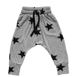 fe6d79aeeaf7 2016 New Kids Boys Harem Pants Star Printed Toddler Boys Girls Trousers  Baby Boys Clothing Casual Pants Pantalon Enfant Garcon