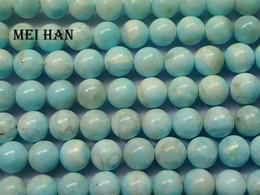 laborlicht Rabatt Freies verschiffen (38 perlen / set / 55g) natürlichen 10-10.5mm Larimar lose perlen stein für schmuck machen design