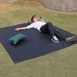 Discount outdoor play mats - SGODDE Delicate Tarp Airbed Waterproof Outdoor Picnic Beach Camping Mat Camping Tarpaulin Bay Play Mat Plaid Blanket