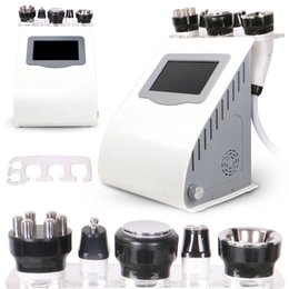 Wholesale skin tightening cavitation portable machine - Professional Portable Ultrasonic Cavitation 40K Cellulite Reduction Radio Frequency Vacuum Multipolar RF Skin Tighten Slimming Machine