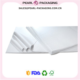 Wholesale White Paper Wrap - Pure White 17gsm Glazed on Both Sides High Quality Wrapping Tissue Paper, 50x70 cm, 100pcs lot, Free Shipping