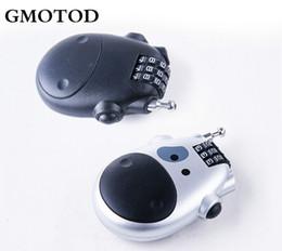 GMOTOD Moto casque rétractable serrure vélo disque frein casque sac anti-vol mot de passe serrure ? partir de fabricateur
