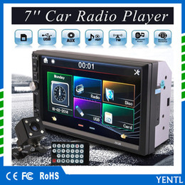 Envío gratis yentl 7012B 2 Din Car Video Player DVD de 7 pulgadas Bluetooth FM Radio Car MP5 Reproductor Bluetooth estéreo FM Radio USB / TF AUS In desde fabricantes