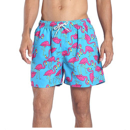 Canada NOUVEAU Short de maillot de bain à séchage rapide Short de bain rayé avec poches en filet pour hommes supplier swim trunks pockets Offre
