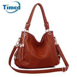 Wholesale russia dress - Tassel Shoulder Bags 2017 Designer Handbags High Quality PU Leather Cross-body Women Messenger Bags Tote Fast Delivery Russia