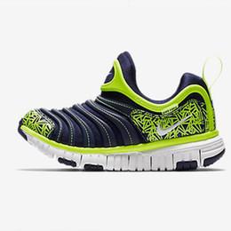 Zapatos nuevos de oruga online-Zapatos de baloncesto para niños y niñas fitness para niños regalo de cumpleaños para niños zapatos deportivos oruga zapatos para niños nuevos