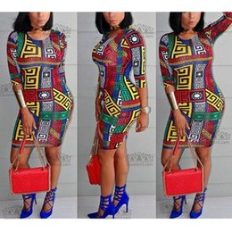 2019 sexy wax fashio robes africaines pour femmes vêtements en tissu ankara  robes de soirée robe