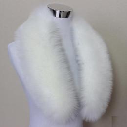 Hot Fashion Unisex Faux Pelliccia di volpe Colletto Sciarpa Collo a scialle  Uomo Donna Wrap Stola Sciarpe Faux Raccoon Fur Winter Collar sciarpe di ... 0ebc7346d1a