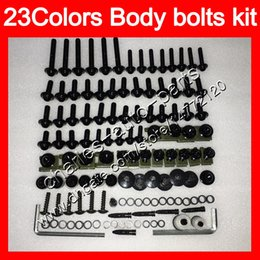 1988 cbr Promo Codes - Fairing bolts full screw kit For HONDA CBR750RR 85 86 87 88 CBR750 RR CBR 750 RR 1985 1986 1987 1988 Body Nuts screws nut bolt kit 25Colors