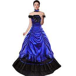 Viktorianische kleidung online-Victorian DressVampire Queen Ballkleid Nachstellung Theaterkleidung