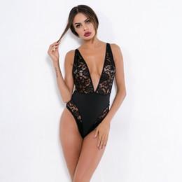 dd762bfcf Amazon 2018 Comércio Exterior Europeu e Americano mulheres sexy lingerie  sexy rendas perspectiva de sedução conjunta roupas supplier european sexy  lace ...