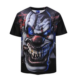 467e2c7e7 3d animal face t shirts Australia - Hot Sales Dark Knight Joker Face T  Shirts Men