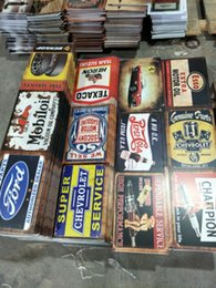 Bar rustiche online-airone gtx eagle lengend champion Garage gasolin Motor Oil beer Retro rustico in metallo di latta segno Wall Decor Vintage Tin Poster Cafe Shop Bar home
