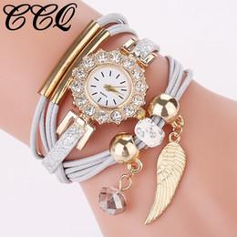 Vestido de mujer de moda caliente reloj de pulsera hecho a mano Reloj de pulsera de lujo casual reloj de la gota Envío desde fabricantes