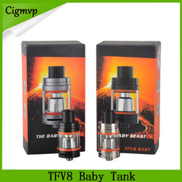 free shipping engine Promo Codes - TFV8 Baby Tank With 3ml Adopts New Turbo Engines - V8 Baby-Q2 Dual Core Cloud Beast Free Shipping By DHL 0266108-1