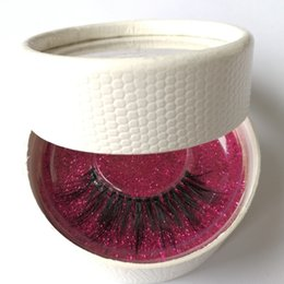 Wholesale Handmade Package - private logo 3D Eyelashes 3D mink false Lashes Luxury Hand Made Silk False Eyelashes 3D mink lashes handmade reusable custom box package