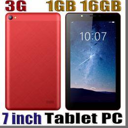 2019 tableta gps 16gb 3G 7 pulgadas Phabet Llamada telefónica Pc Tablet 1024 * 600 Capactive Pantalla Mtk8312 Quad Core Cpu Ram 1GB Rom 16G Android 8.1 Gps Wifi tableta gps 16gb baratos