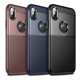 Wholesale Drop Proof - iPaky Case For iPhone X Armor Back Cover 2 In 1 PC+TPU Hybrid Drop-proof Shockproof Hard Soft Cases With Retail Package In Stock