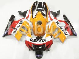 Wholesale cbr plastics - High Quality ABS Plastic Fit For Honda CBR600RR CBR600 CBR 600 F3 1997 1998 97 98 Moto Custom Made Motorcycle Fairing Kit Bodywork A93