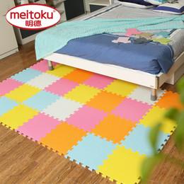 Wholesale Eva Puzzle Carpet - Meitoku baby EVA Foam Play Puzzle Mat  18 or 24 lot Interlocking Exercise Tiles Floor Carpet Rug for Kid,Each 30cmX30cm,1cmThick