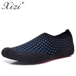 1478d48786ed1 XIZI 2018 Summer Men Sandals Slipony Water Shoes Quality Large Size  Sandalias Male Waterpark Sandals Aqua Slippers for Beach