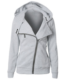 Wholesale long zip hoodie - Female Hoodies Sweatshirt Autumn Winter Long Sleeve Zip Bts Hooded Sudaderas Mujer 2018 Warm Women Tracksuit Harajuku Streetwear