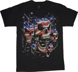 2019 faire le cou de la guitare Faites votre propre chemise courte Skeleton jouant de la guitare Mens T-shirt noir ras du cou court faire le cou de la guitare pas cher