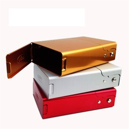 каменный держатель сигарет Скидка Пользовательские Алюминиевый металлический портсигар SharpStone Сигаретный Держатель Табак Для Хранения Подарок Новая Мода Острый камень Сигареты Сигареты Box