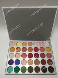 Wholesale Earth Warms - 2018 New Cosmetics 45 Color Eyeshadow Shimmer Eye Shadow Palettes Earth Warm Luminous Eye Shadow Makeup Palette Sets DHL shipping
