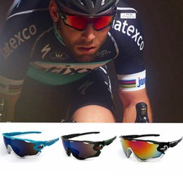 Wholesale Mountain Glasses - 14 Color Bicycle Cycling Eyewear UV400 Sunglasses Glasses Sun Glasses Mountain Bikes Sport Explosion-proof Goggles EEA131