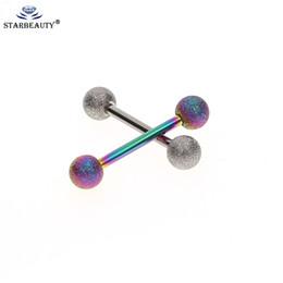 гребень для волос из стерлингового серебра Скидка Mix цвет Mix цвет 14 г Язык штангой кольца ниппель кольцо бары пирсинг ювелирные изделия для женщин