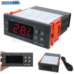 Dc-temperaturregler online-STC-1000 DC 12 V 24 V AC 110 V 220 V 10A Zwei Relaisausgang LED Digital Temperaturregler Thermostat Inkubator mit Heizungskühler