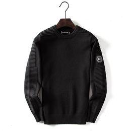 Pull pour hommes Designer Canada Casual Marque Laine Chemise Blouse solide Business Style Chandail d'hiver pour hommes ? partir de fabricateur