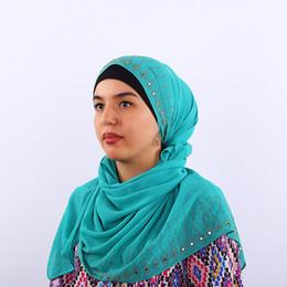 chiffon hijab schals Rabatt Hochwertige Plain Bubble Chiffon Schals Stirnbänder Beliebte Hijab Summer Muslim Schals