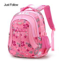 d7dff960be1b Backpack For Teenage Girls Boys Student Satchel s Floral Children School  Bags Teenagers Trendy kids Book Bag