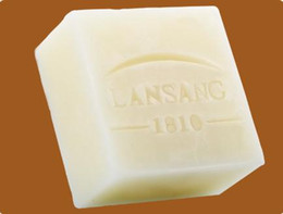 Wholesale Goat Milk - Lanshang Goat Milk Soap To Wash The Soap To Wet The Natural Essential Oil Wash Acne Non-toxic Harmless